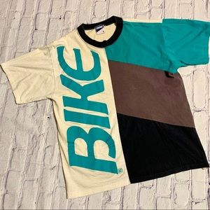 Vintage Bike Athletic Company Color Block T-shirt
